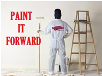 Paint it Forward Community Efforts from Fresh Coat Painters