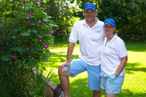 TruBlue Owners Tim and Kay Diemont
