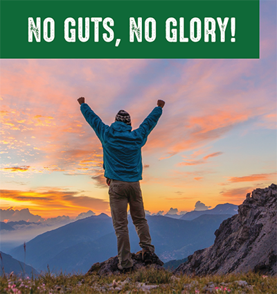 No Guts No Glory Book